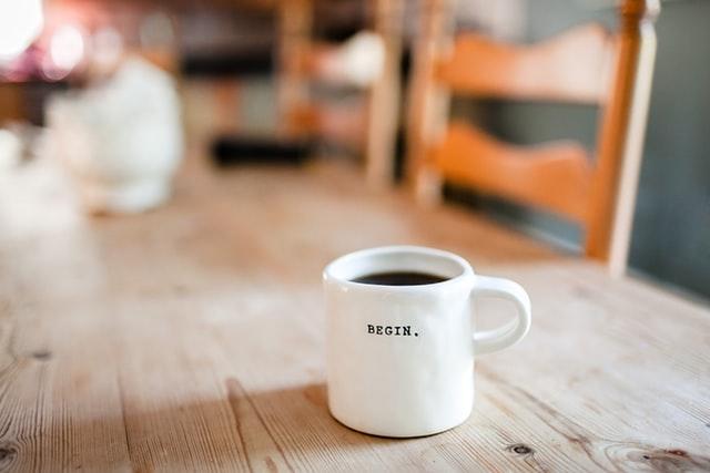 Hou vaste tijden aan en begin je dag zoals gewoonlijk!